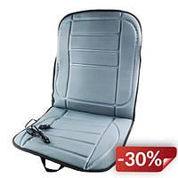 Накидка на сиденье авто Supretto с подогревом от прикуривателя Серый (5411-0002)