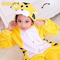 Пижама кигуруми жёлтый тигр