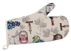Прихватка-рукавица LiMaSo Вино 17*30 см гобеленовая арт.EDEN914-RK.17х30