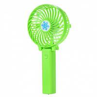 Ручной портативный вентилятор UTM Зеленый #D/S