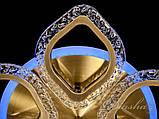Потолочная светодиодная люстра с диммером QX2522/5S BR LED 3color dimmer, фото 6
