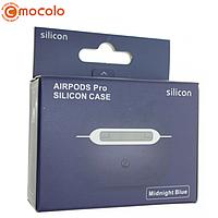 Чехол Silicone Case Ultra Thin для AirPods Pro (Midnight Blue) без карабина