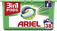 Капсулы для стирки универсального белья Ariel Pods Original 3 в 1 38 шт