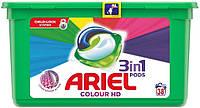 Капсулы для стирки цветного белья Ariel Color Pods 3 в 1 38 шт