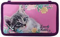 "Пенал Class 2-яр.,укомпл,""Lovely Kitties"", 210/70D PL, 20501С"