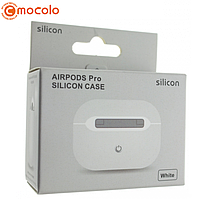 Чохол Silicone Case Ultra Thin для AirPods Pro (White) без карабіна