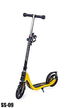 Двухколесный самокат Scale Sports SS-09 Yellow