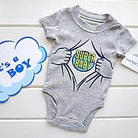 "Боди Carters ""Super baby"" NB"