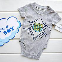 "Боді Carters ""Super baby"" NB"