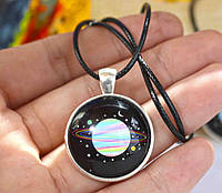 Кулон сатурн