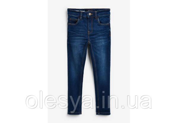 Детские синие джинсы NEXT  Размер 4-5 лет