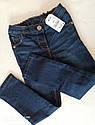 Детские синие джинсы NEXT  Размер 4-5 лет, фото 4