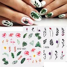 Наклейки для дизайну нігтів