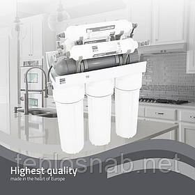 Фільтр зі зворотним осмосом, мінералізатором і биокерамикой Platinum Wasser RO-7 PLAT-F-ULTRA7 (Німеччина)