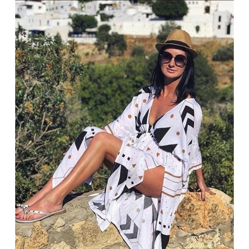 Пляжное платье-туника