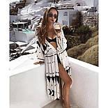Пляжное платье-туника, фото 2