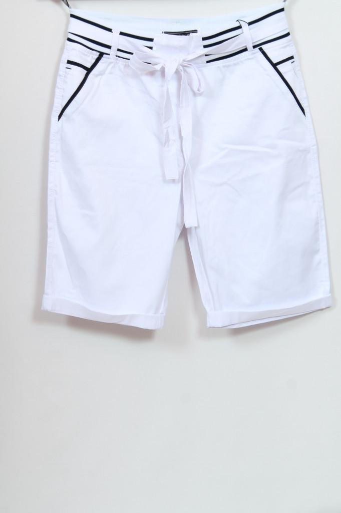 Турецкие женские летние белые шорты больших размеров 50-56