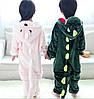 Кигуруми динозаврик детский новогодний костюм, фото 4