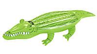 Плот надувной Крокодил с ручками, 168*89 см, надувные игрушки