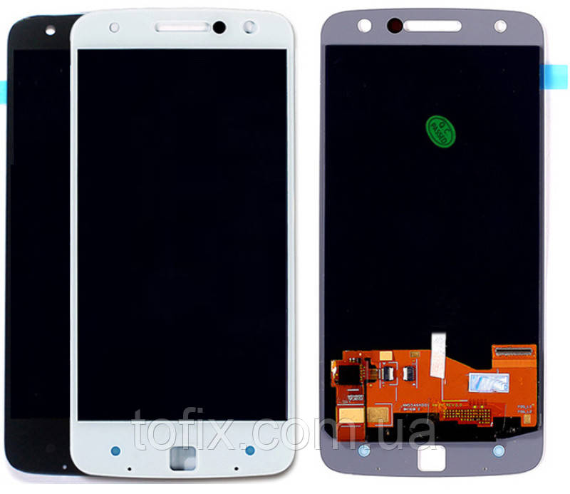 Дисплей для Motorola Moto Z XT1650, модуль в сборе (экран и сенсор), оригинал
