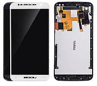 Дисплей для Motorola Moto X Style XT1570, XT1572, XT1575, модуль в сборе (экран и сенсор) с рамкой, оригинал, фото 1