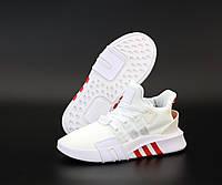 """Кроссовки женские Adidas EQT """"Белые"""" высокие адидас р. 36-40"""