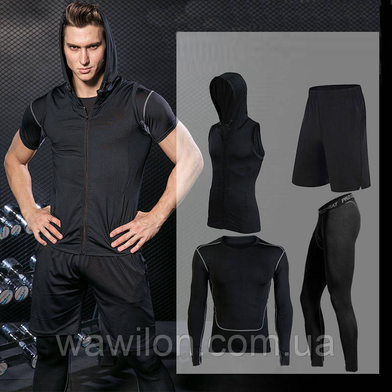 Компрессионная одежда 4в1