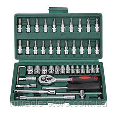 Набор инструментов для ремонта авто 46 предметов TOOL SET, фото 2