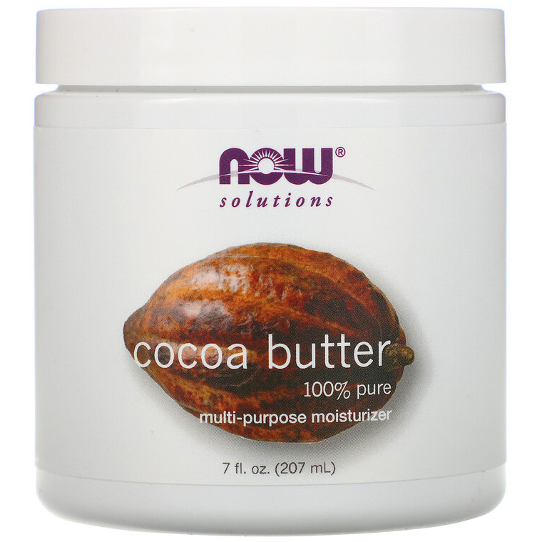 """Масло какао NOW Foods, Solutions """"Cocoa Butter"""" (207 мл)"""