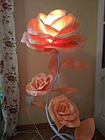 Торшеры с изолона  | торшеры цветы | торшеры розы
