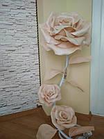 Торшеры с изолона  | торшеры лампы  с излонга  | торшеры розы на подарок