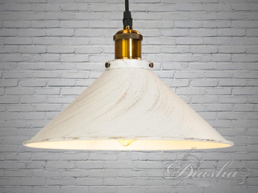 Підвісний світильник на одну лампочку 6855-300-WH-G