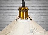 Підвісний світильник на одну лампочку 6855-300-WH-G, фото 3