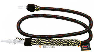 Шланг для кальяна Ager моющийся (большой мундштук), коричневый