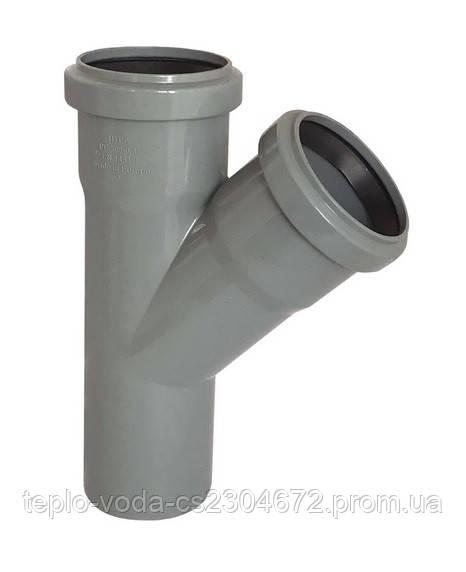 Тройник 50х45 для канализации
