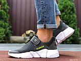 Чоловічі кросівки літні Running ( темно-сірі), фото 2
