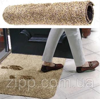 Придверні килимок з мікрофібри Clean Step Mat Супервбираючий