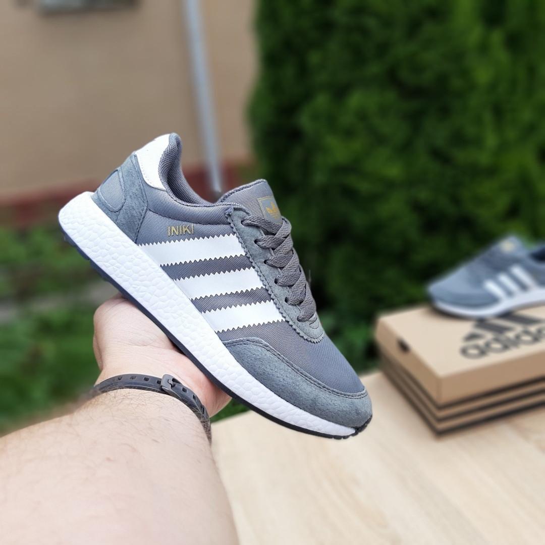 Женские кроссовки Adidas INIKI (серые) 20147