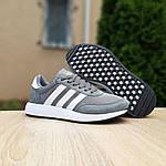 Женские кроссовки Adidas INIKI (серые) 20147, фото 3