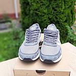 Жіночі кросівки Adidas INIKI (сірі) 20147, фото 4