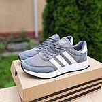 Женские кроссовки Adidas INIKI (серые) 20147, фото 6
