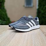 Жіночі кросівки Adidas INIKI (сірі) 20147, фото 7