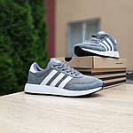Женские кроссовки Adidas INIKI (серые) 20147, фото 8