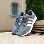 Жіночі кросівки Adidas INIKI (сірі) 20147, фото 9