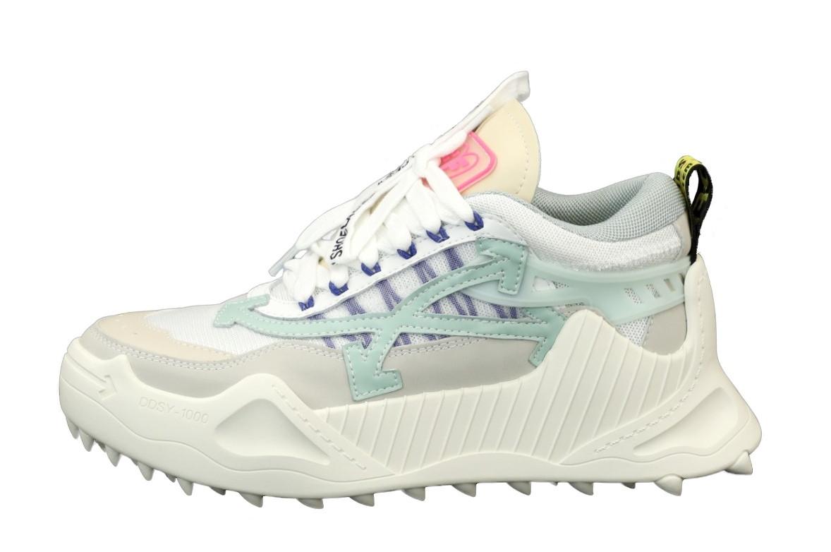 Женские кроссовки OFF-White Odsy-1000 Sneaker (белые) 12177