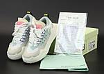 Женские кроссовки OFF-White Odsy-1000 Sneaker (белые) 12177, фото 8