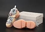 Жіночі кросівки Jimmy Choo Diamond Trail Pink (рожеві) 12178, фото 5