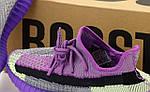 Жіночі кросівки Adidas Yeezy Boost 350 Повний рефлектив (бузкові) 12180, фото 5