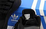 Мужские кроссовки Adidas EQT Рефлективные (черные) 12183, фото 2