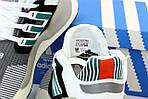 Чоловічі кросівки Adidas EQT Рефлективні (сіро-білі) 12184, фото 5